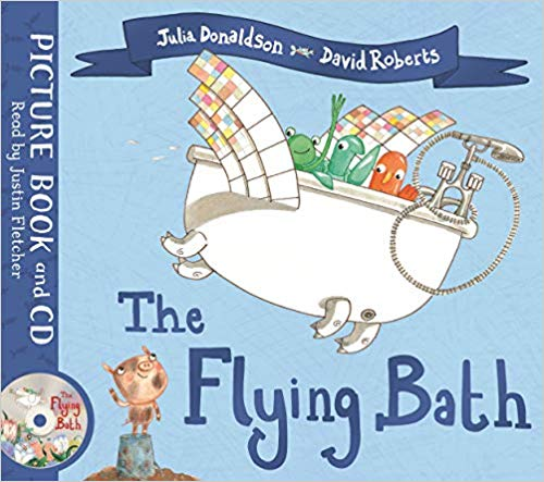 The Flying Bath (Book & CD)