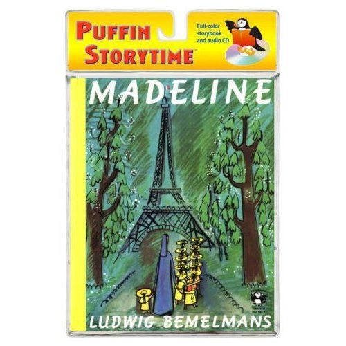 Puffin Storytime : Madeline (Book & CD)
