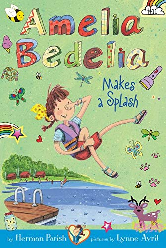 Amelia Bedelia Chapter Books #11 : Amelia Bedelia Makes a Splash