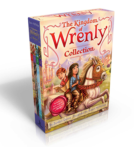 The Kingdom of Wrenly Collection #1 페이퍼백 4종 박스 세트