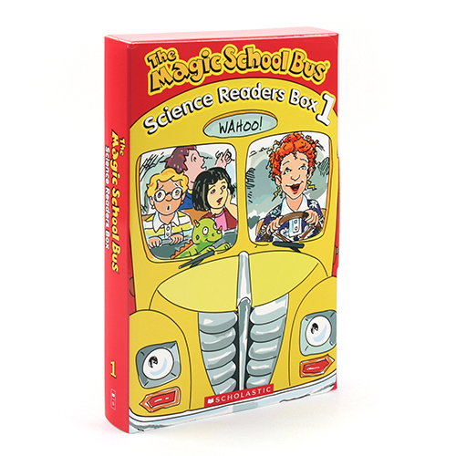 The Magic School Bus Science Readers Box1 페이퍼백 10종 박스 세트