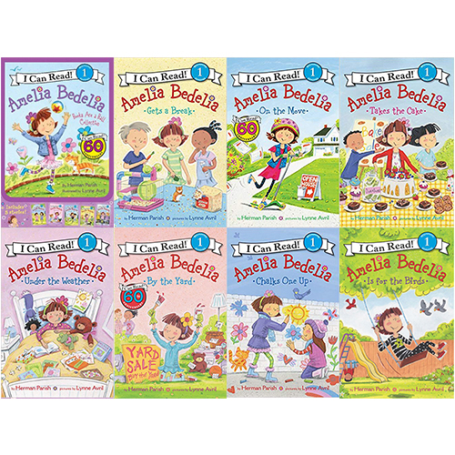 I Can Read Level 1 : Young Amelia Bedelia 페이퍼백 12종 세트
