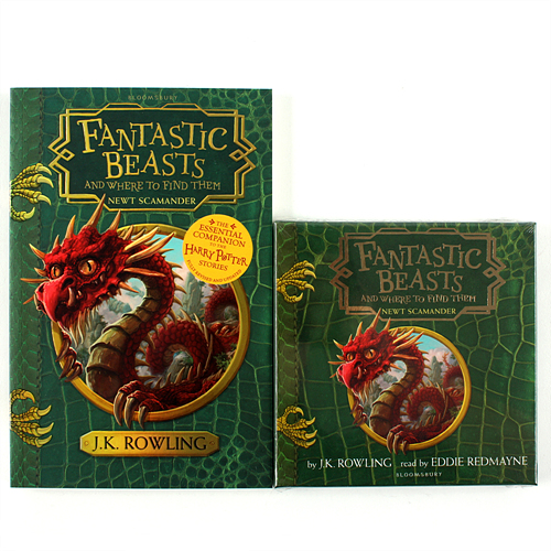 Fantastic Beasts and Where to Find Them (Paperback+CD) 세트