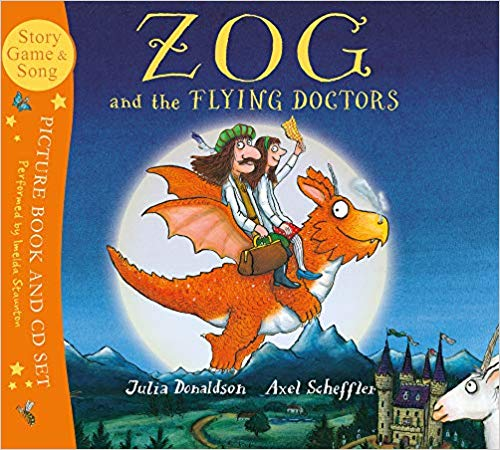 Zog and the Flying Doctors (Book & CD)