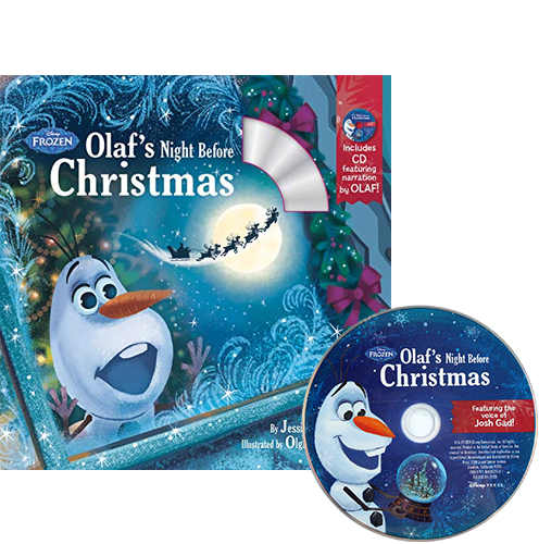 Olaf's Night Before Christmas (Book & CD) (Disney Frozen)