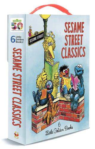 Sesame Street Classics: 6 Little Golden Books (Big Bird's Red Book, Oscar's Book, Grover's Own Alphabet, I Think That It Is Wonderful, The Together Book, and The Monster at the End of This Book)
