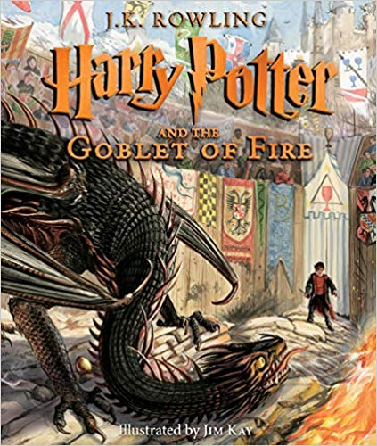 해리포터 컬러판 Harry Potter #4 : Harry Potter and the Goblet of Fire : The Illustrated Edition