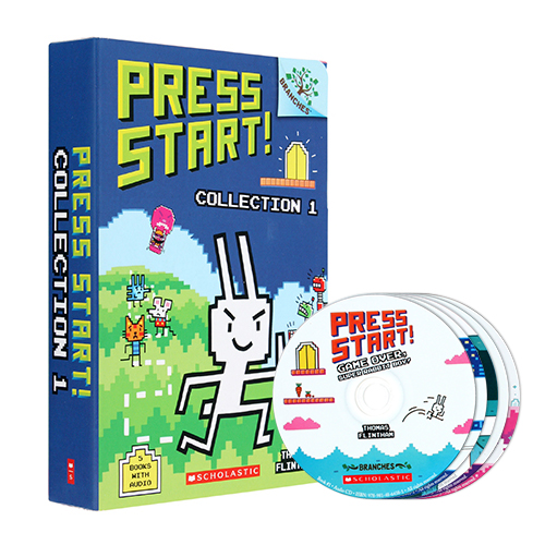 Press Start (Book & CD) 5종 박스 세트
