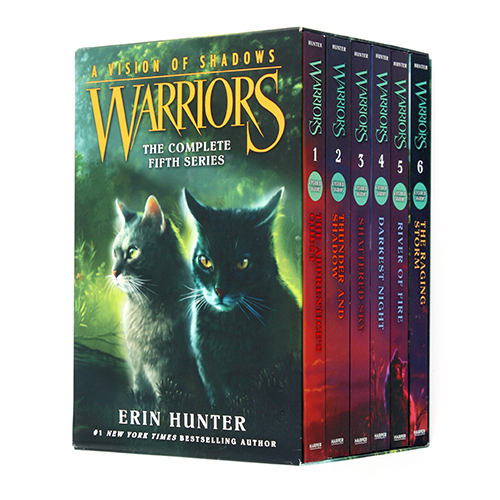 Warriors 6부  A Vision of Shadows Box Set 페이퍼백 1-6권 박스세트