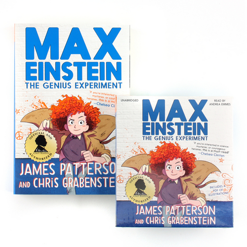 Max Einstein #1: The Genius Experiment (Paperback+CD) 세트