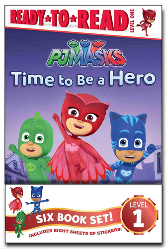 Ready-To-Read Level 1:  PJ Masks Value Pack 페이버팩 6종 세트