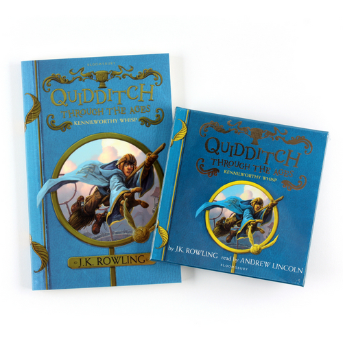 Quidditch Through the Ages (Paperback+CD) 세트