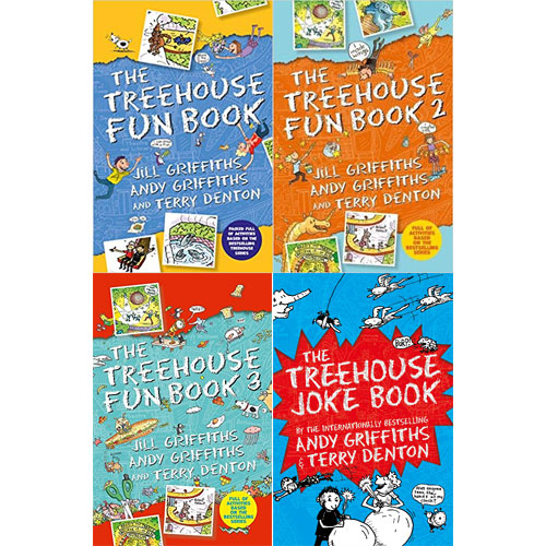 The Treehouse Fun Book & Joke Book 4종 세트