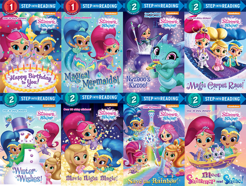 Step Into Reading Setp 2 : Shimmer and Shine 페이퍼백 8종 세트
