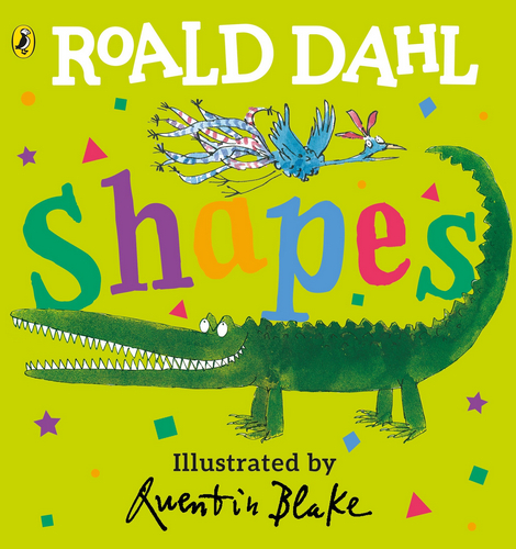 Roald Dahl: Shapes (Lift-the-Flap)