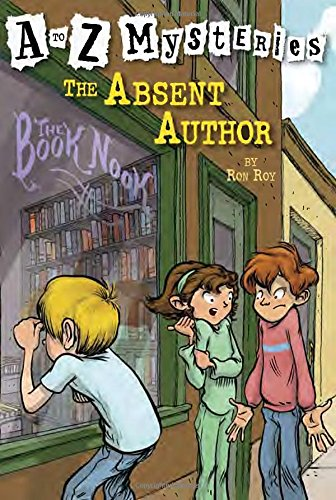 A to Z Mysteries #A: The Absent Author