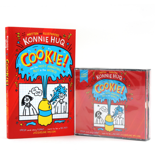 Cookie! : Cookie and the Most Annoying Boy in the World (Paperback+CD) 세트