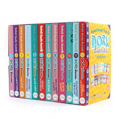 Dork Diaries Collection 페이퍼백 12종 박스 세트