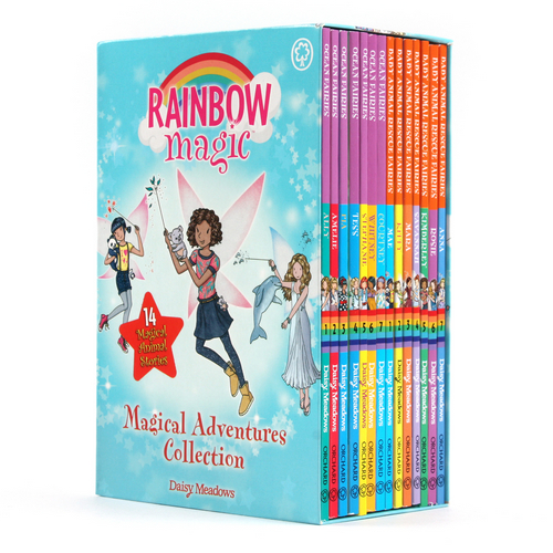 Rainbow Magic Magical Adventures Collection 페이퍼백 14종 박스 세트  (Including 2 Series)
