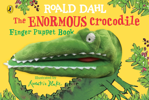 Roald Dahl The Enormous Crocodile Finger Puppet Book