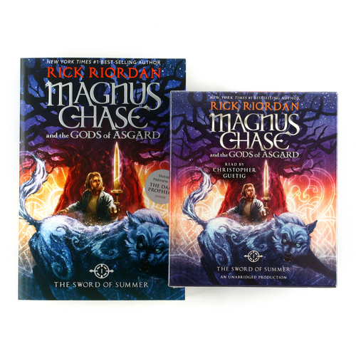 Magnus Chase and the Gods of Asgard #1 : The Sword of Summer (Paperback+CD) 세트