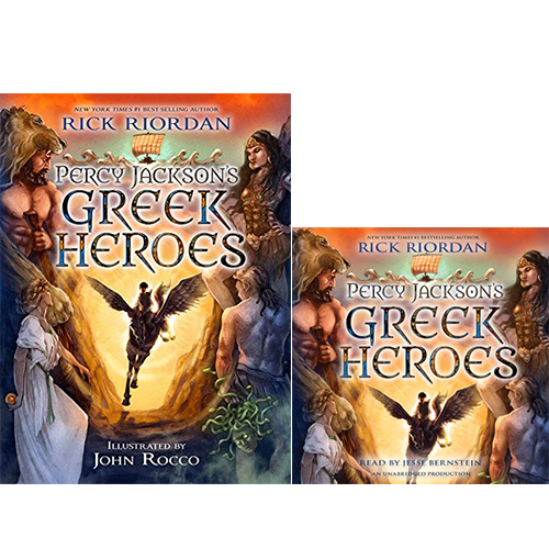 Percy Jackson's Greek Heroes (Paperback+CD) 세트