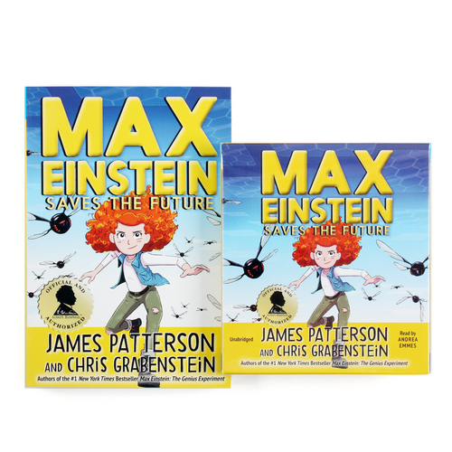 Max Einstein#3: Saves the Future (Paperback+CD) 세트