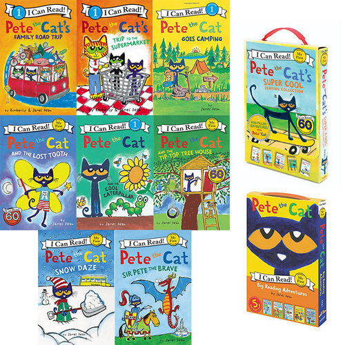 I Can Read : Pete the Cat 시리즈 18종 세트  (My First +Level 1)