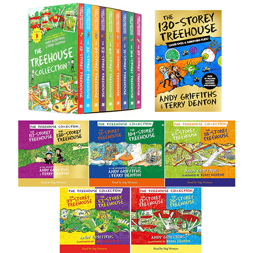 Storey Treehouse 13-130 (Book & CD) 10종 세트