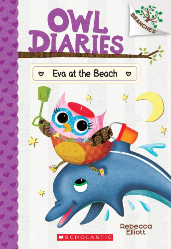 Owl Diaries #14: Eva at the Beach ( A Branches Book)
