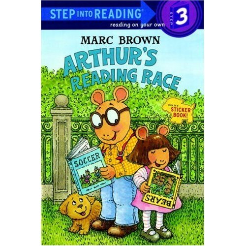 Step Into Reading Step 3 : Arthur's Reading Race