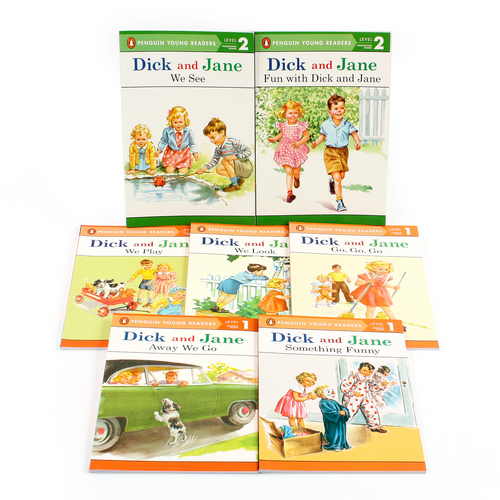 Penguin Young Readers Level 1~2 : Dick and Jane 페이퍼백 7종 세트