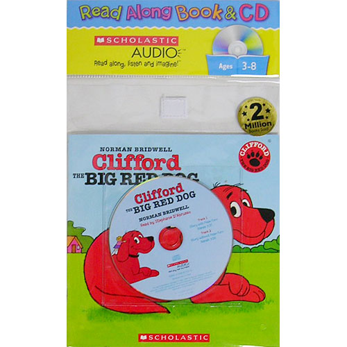 Clifford the Big Red Dog (Scholastic Book & CD)