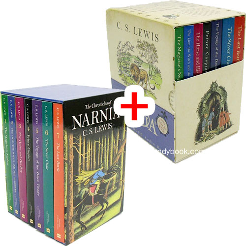 The Chronicles of Narnia Full-Color 7 Books Box Set+ 7 Volume CD Box Set