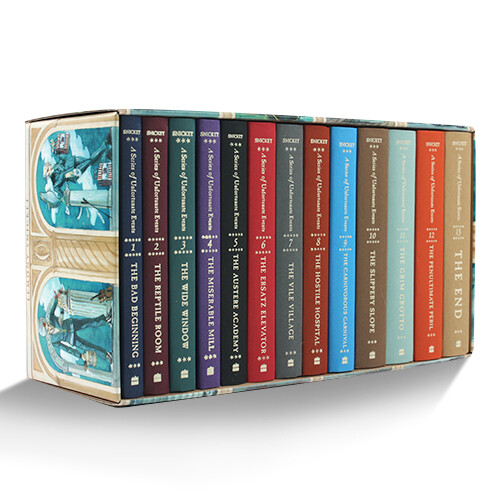 A Series of Unfortunate Events: The Complete Wreck: #1~#13 Box Set