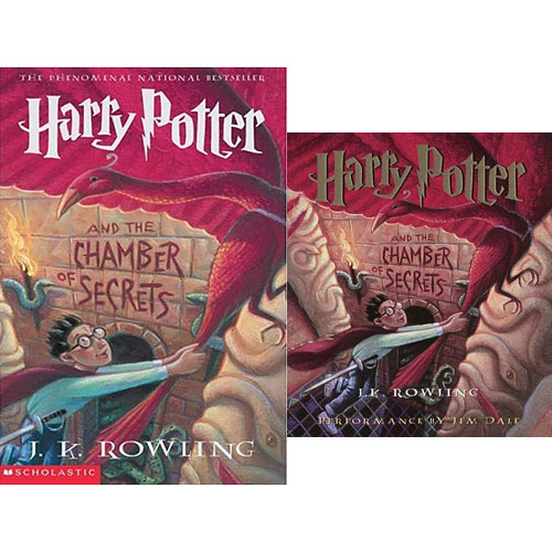 Harry Potter #02 : Harry Potter and the Chamber of Secrets (Paperback+CD) 세트