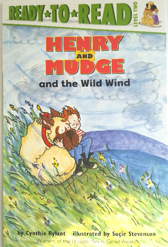 Ready-To-Read Level 2 : Henry And Mudge And The Wild Wind