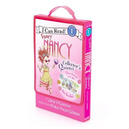 Fancy Nancy I Can Read Book Level 1 : Fancy Nancy Collector's Quintet