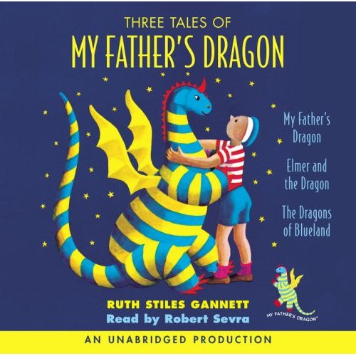 Three Tales of My Father's Dragon 를 읽어주는 Audio CD (2 CDs) (도서 미포함)