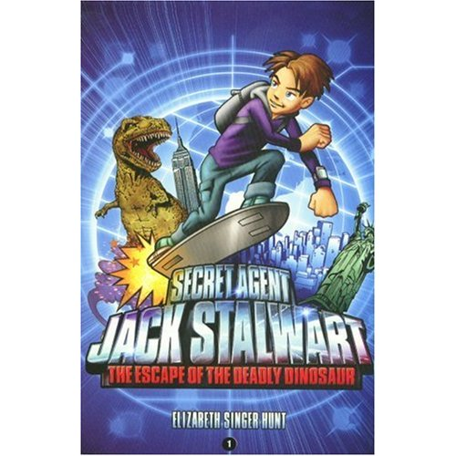 Secret Agent Jack Stalwart #01 :The Escape of the Deadly Dinosaur:USA
