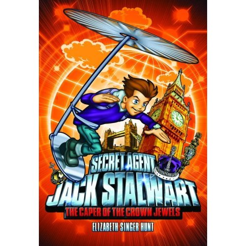Secret Agent Jack Stalwart #04 : The Caper of the Crown Jewels  England
