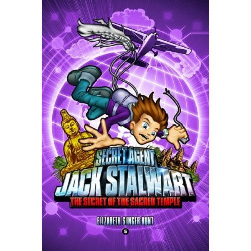 Secret Agent Jack Stalwart #5 :The Secret of the Sacred Temple  Cambodia