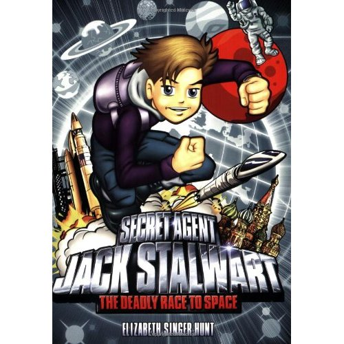 Secret Agent Jack Stalwart #09 : The Deadly Race to Space: Russia