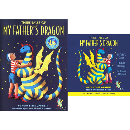 Three Tales of My Father's Dragon (Hardcover+CD) 세트
