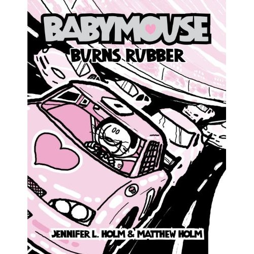 Babymouse #12 : Burns Rubber