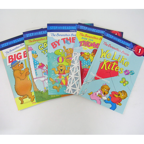 Step Into Reading Berenstain Bears 시리즈 페이퍼백 5종 세트