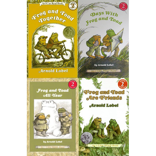 I Can Read Book 2 Frog and Toad 페이퍼백 4종 세트