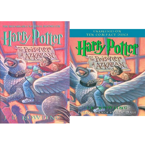 Harry Potter #03 :Harry Potter and the Prisoner of Azkaban (Paperback+CD) 세트