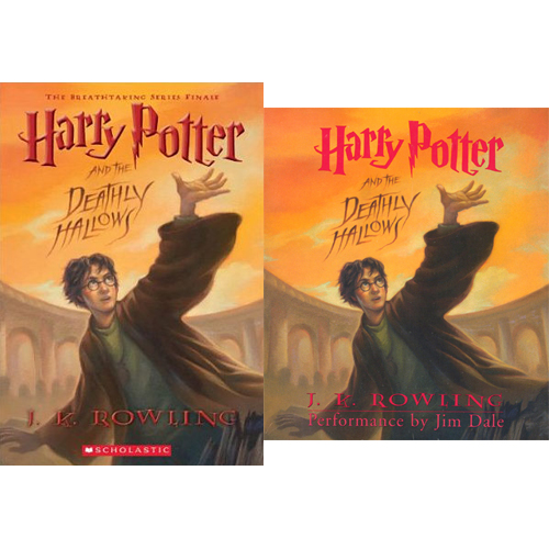 Harry Potter #07 : Harry Potter and the Deathly Hallows (Paperback+CD) 세트