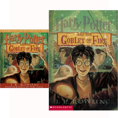 Harry Potter #04 : Harry Potter and the Goblet of Fire (Paperback+CD) 세트